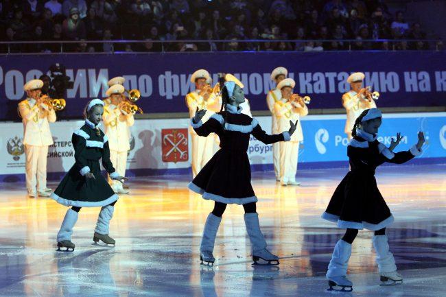 Чемпионат России по фигурному катанию открытие