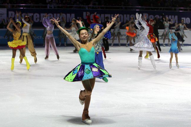 Чемпионат России по фигурному катанию открытие детский спорт