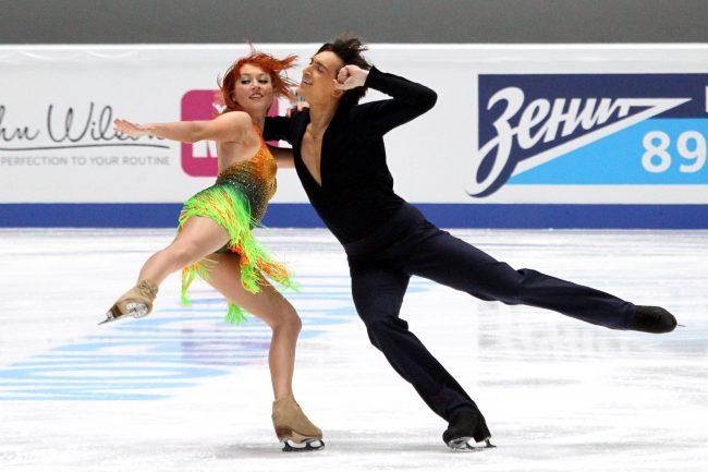 Чемпионат России по фигурному катанию спортивные танцы