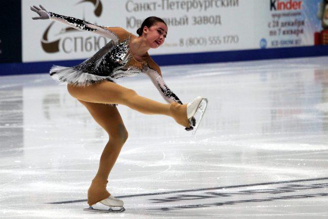Алина Загитова чемпионат России по фигурному катанию