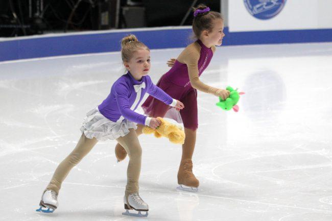 Чемпионат России по фигурному катанию детский спорт