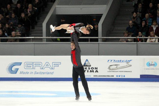 чемпионат России по фигурному катанию парное катание произвольная программа