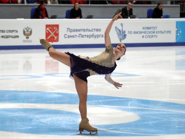 чемпионат России по фигурному катанию девушки произвольная программа
