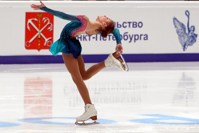 Чемпионат России по фигурному катанию Алёна Косторная