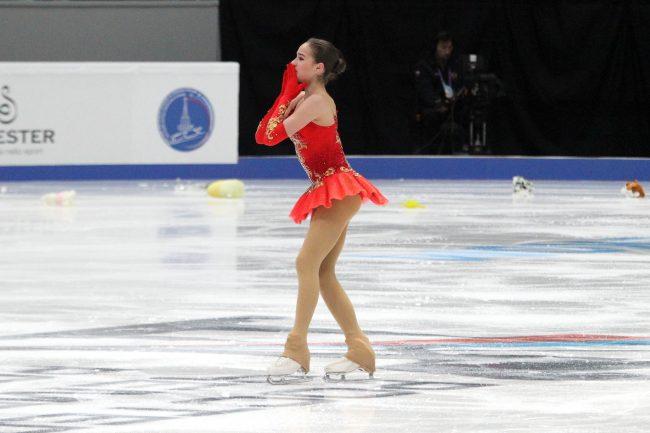 Чемпионат России фигурное катание Алина Загитова