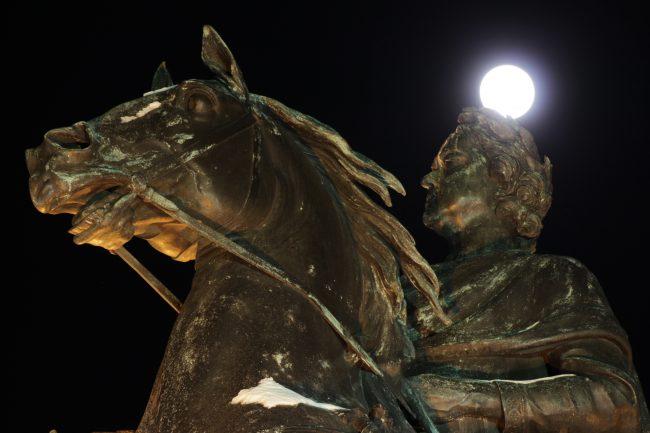 IMG_0737 суперлуние полнолуние луна ночь петербург медный всадник петр первый I