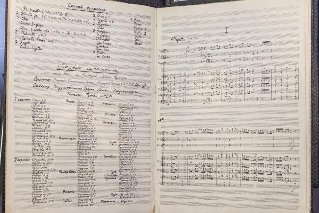 блокадная симфония музыка ноты Партитура Седьмой симфонии Дмитрия Шостаковича