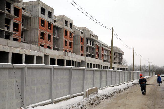 строительство жилой комплекс планетоград