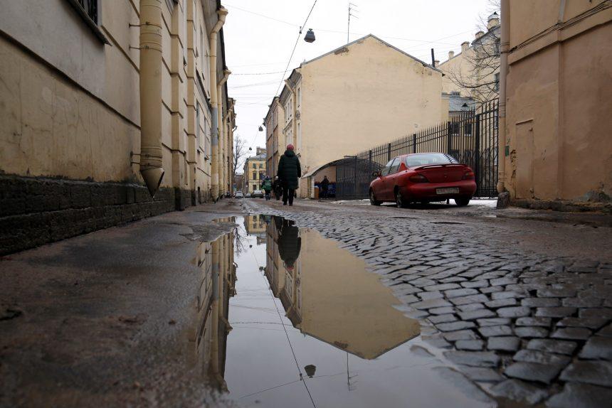 В понедельник в Петербурге ожидаются ливневые дожди