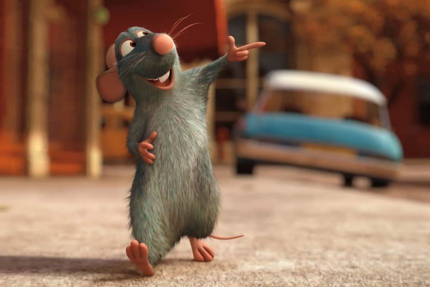 рататуй, мышь, крыса