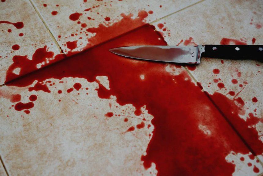 нож убийство кровь преступление криминал
