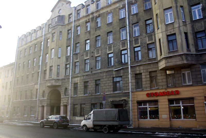 доходный дом П. М. Михайлова Боровая улица 59 выявленный памятник