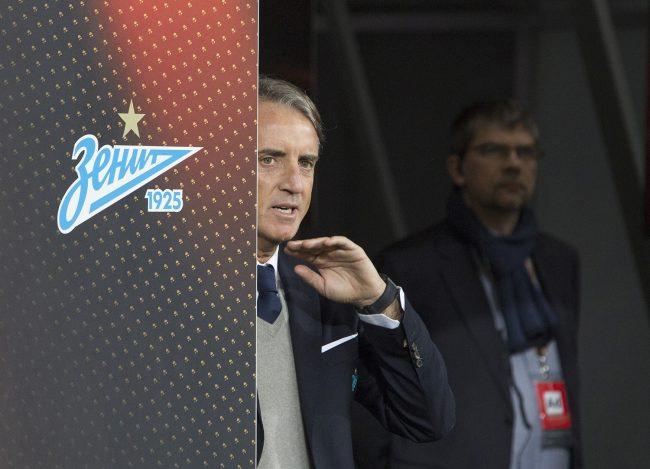 тренер футбольного клуба Зенит Роберто Манчини