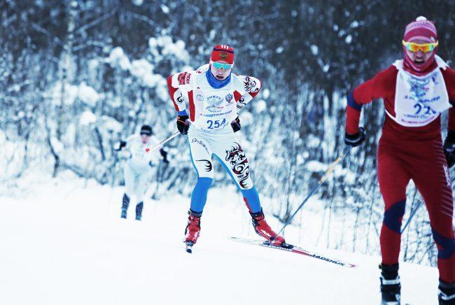 лыжня России лыжники зимние виды спорта
