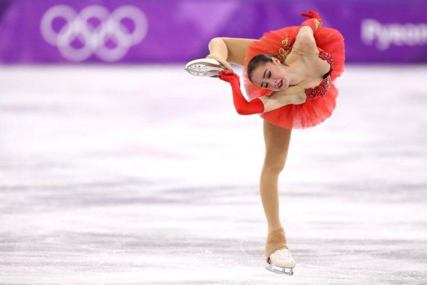 Алина Загитова на Олимпийских играх в Пхенчхане