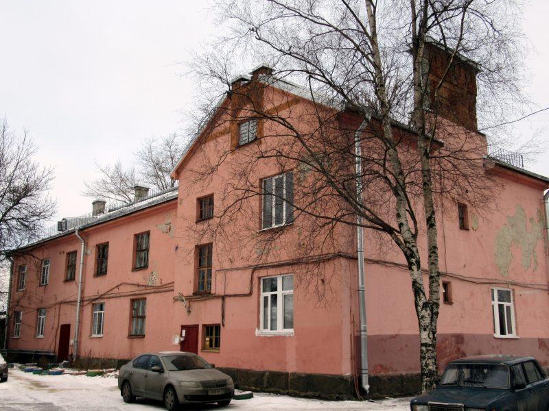 дома станция Финляндская товарная