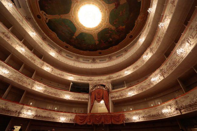 Михайловский театр реставрация