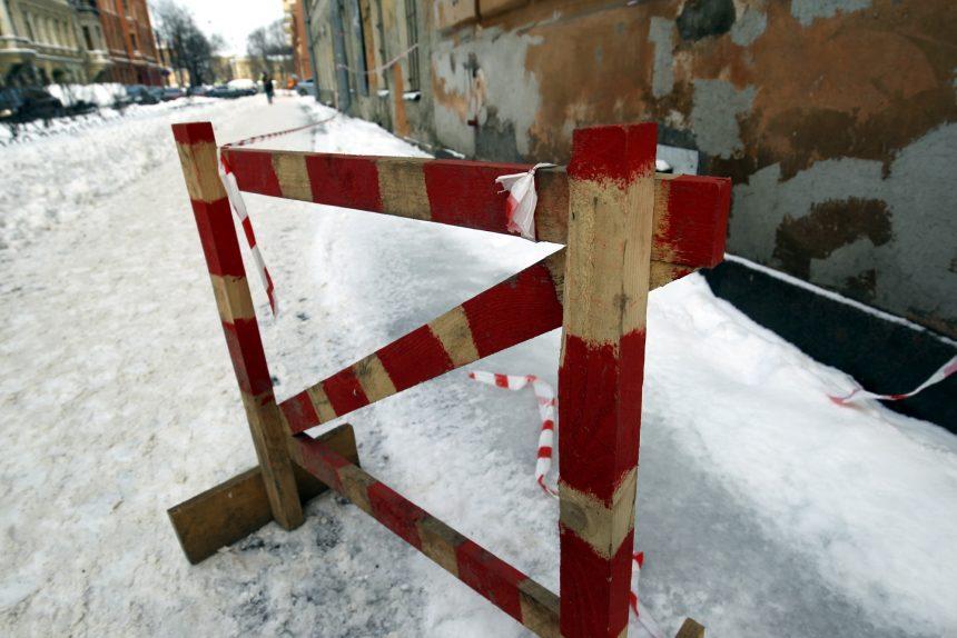 уборка снега лёд гололёд ограждения