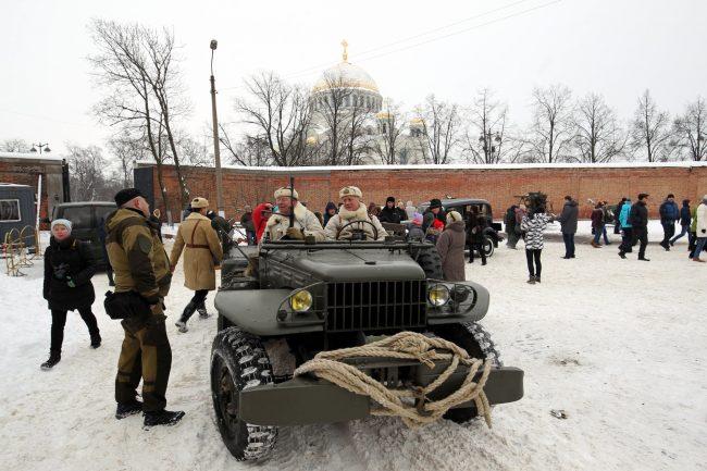 реконструкция Сталинградская битва военная техника