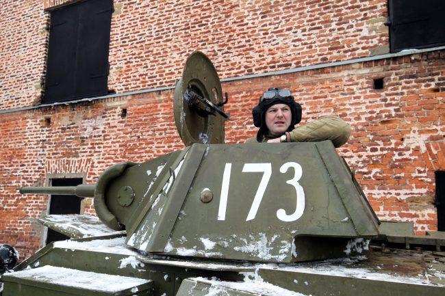 реконструкция Сталинградская битва военная техника танкист