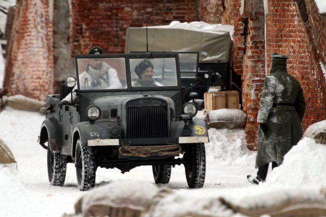 реконструкция Сталинградская битва военная техника Вермахт