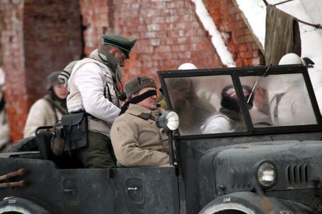 реконструкция Сталинградская битва военная техника советский офицер переговоры