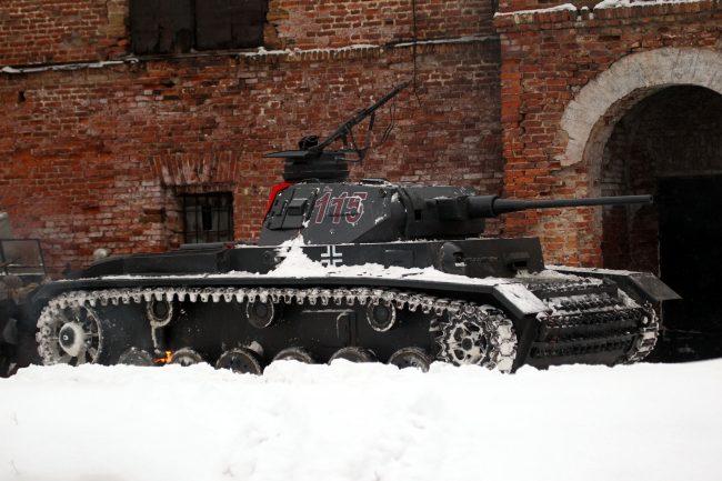 реконструкция Сталинградская битва военная техника танк Вермахт