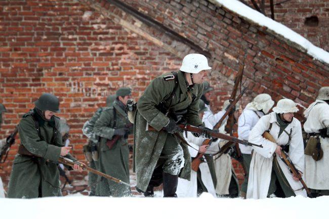 реконструкция Сталинградская битва Вермахт СС