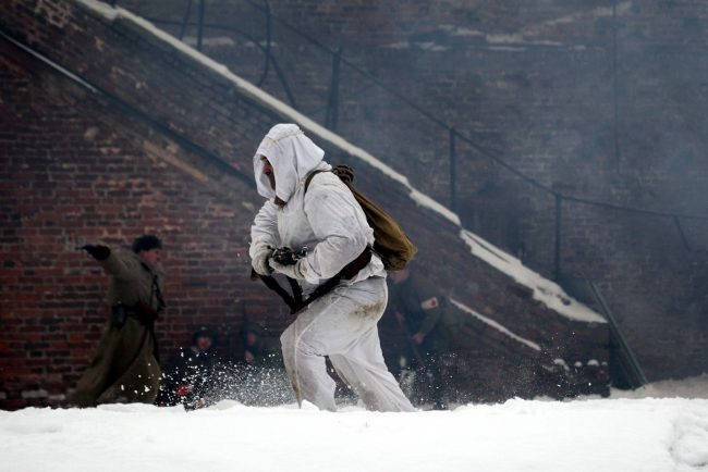 реконструкция Сталинградская битва Красная Армия