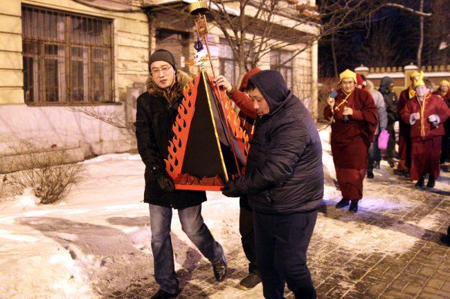 буддизм Сагаалган Дугжууба восточный новый год в дацане Гунзэчойнэй соор