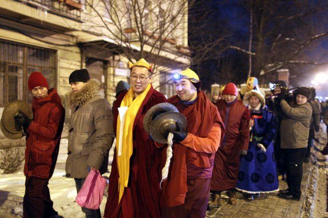 буддизм Сагаалган Дугжууба восточный новый год в дацане Гунзэчойнэй лама