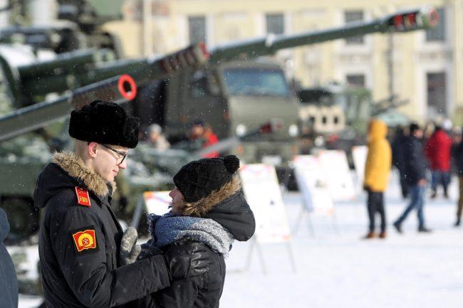 военные курсант девушка любовь