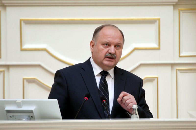 вице-губернатор Николай Бондаренко Законодательное Собрание