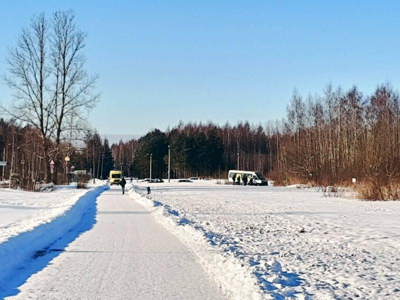 дтп авария маршрутка Петергоф