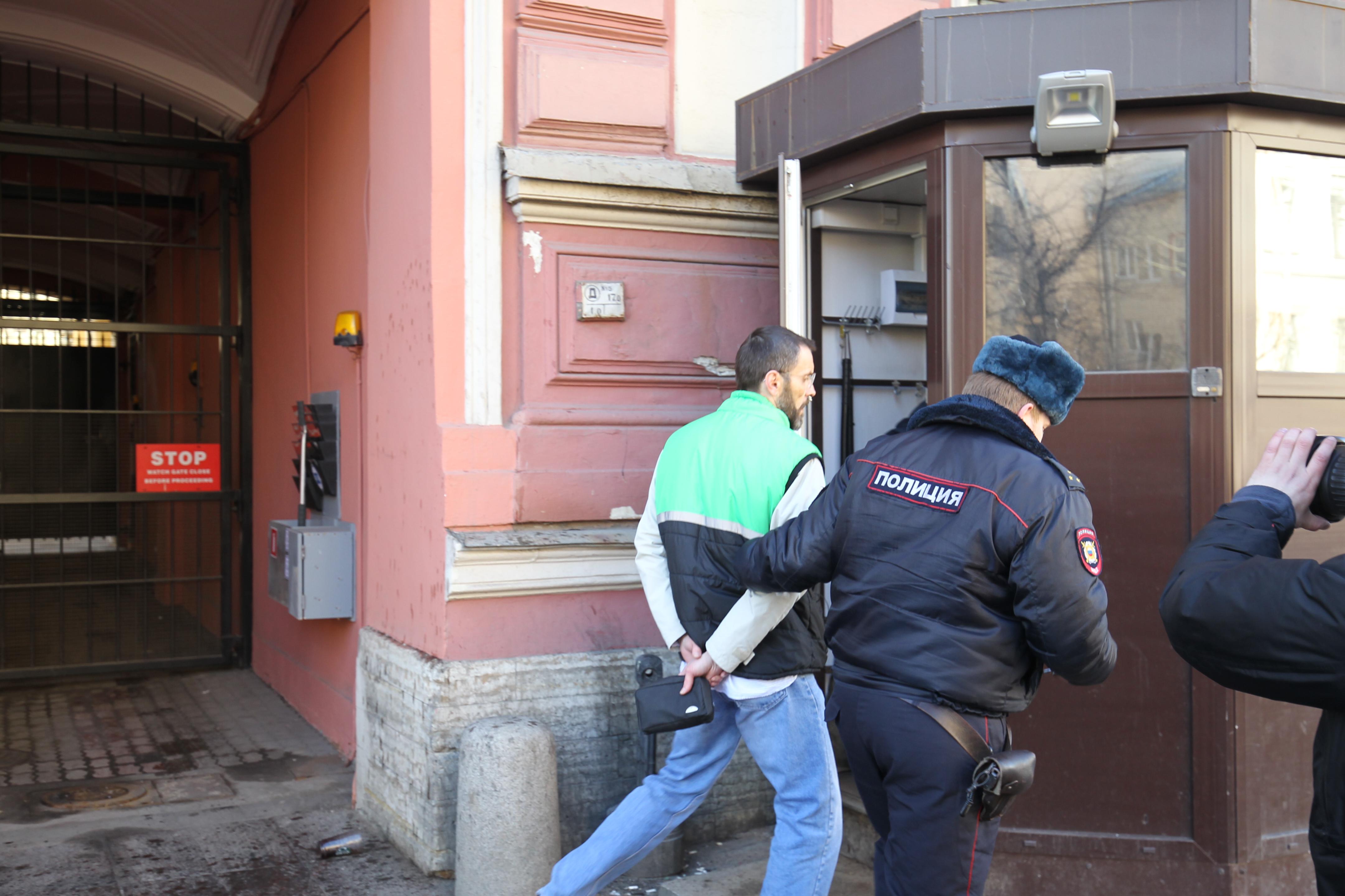 задержание у генконсульства США, генконсульство США в Петербурге