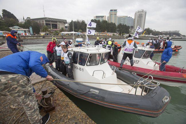 яхтенный спорт Национальная парусная лига Сочи буксир