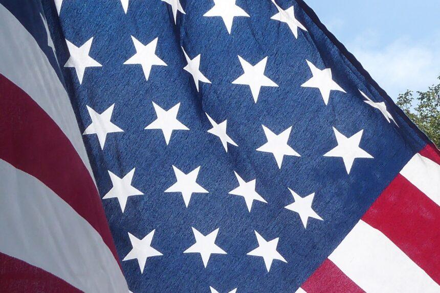 флаг США Америка