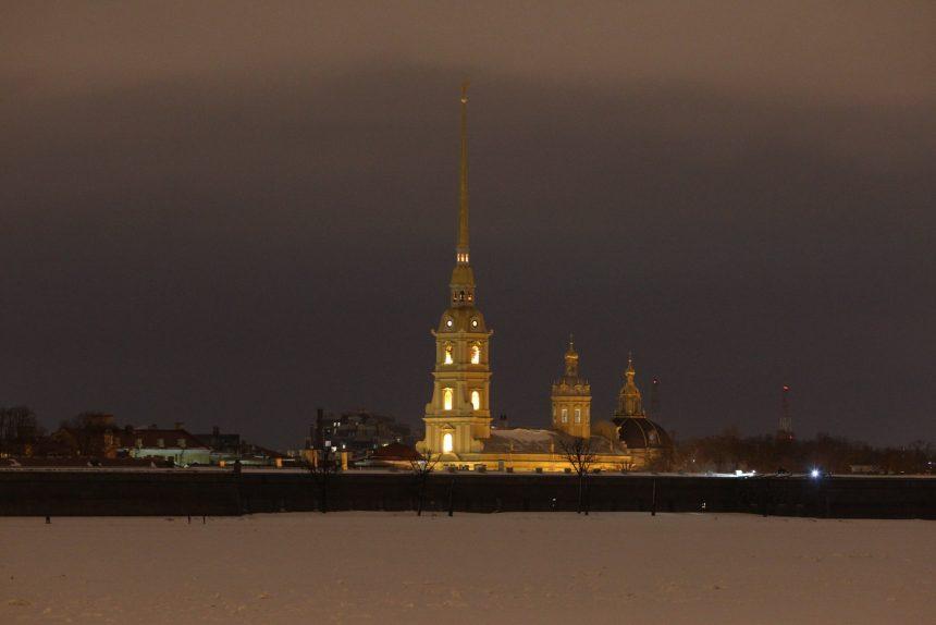 Час Земли Петропавловская крепость