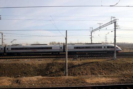 скоростной поезд Сапсан железные дороги