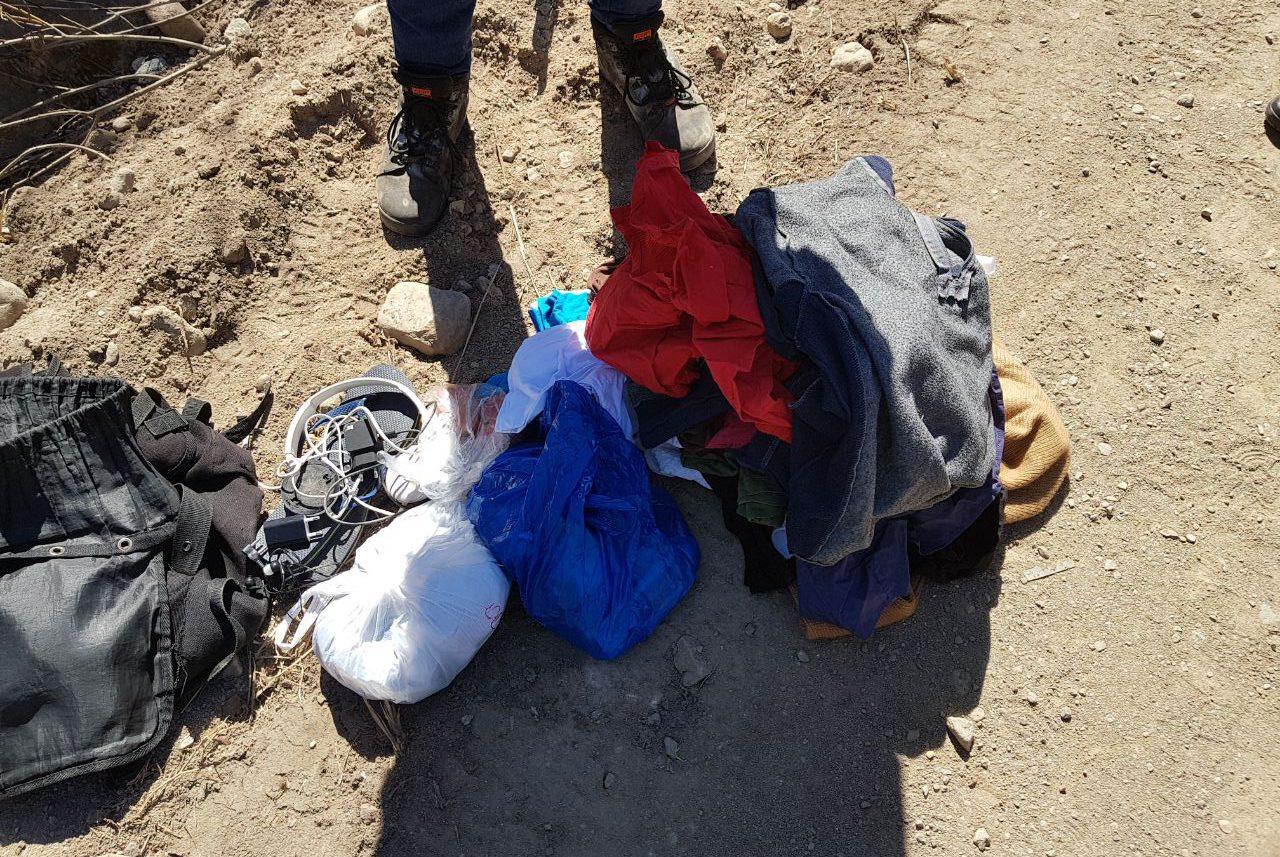 вещи задержание пограничники граница