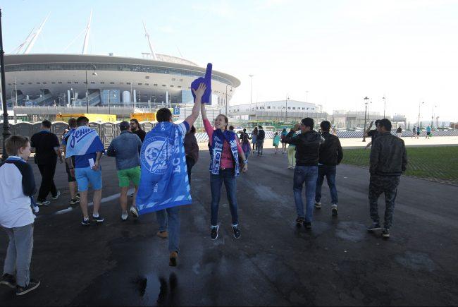 стадион зенит новокрестовская