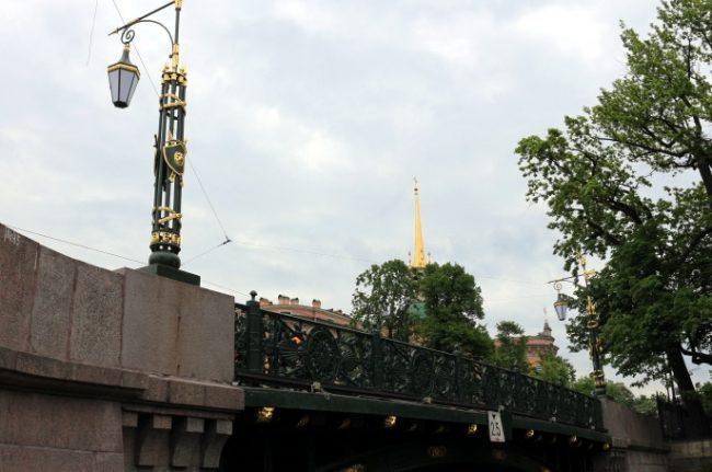 1-й садовый мост реставрация позолота