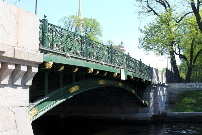 2-й садовый мост реставрация позолота