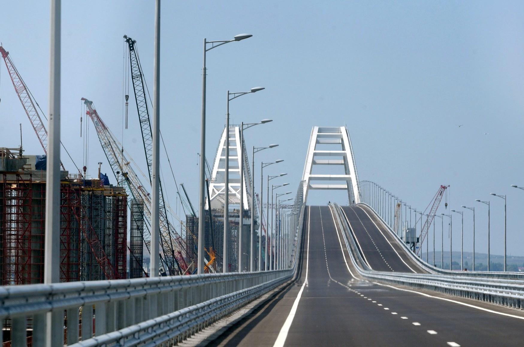 Крымский Керченский мост