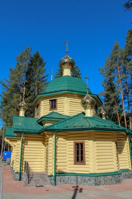 храм в Левашово