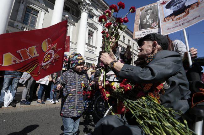 Бессмертный полк, 9 мая день победы