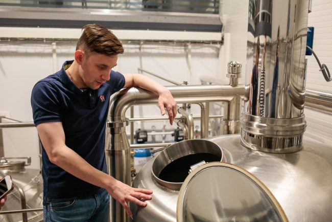 заторный чан пивоварня