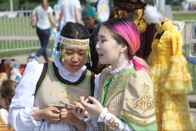 бал национальностей национальные костюмы татары день города