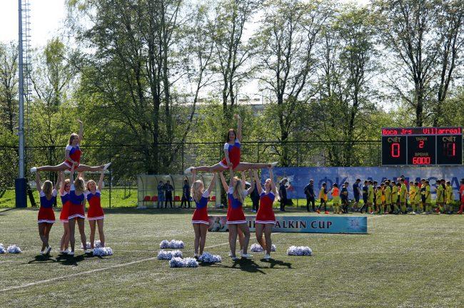 детский спорт футбол кубок Бурчалкина чирлидеры чирлидинг