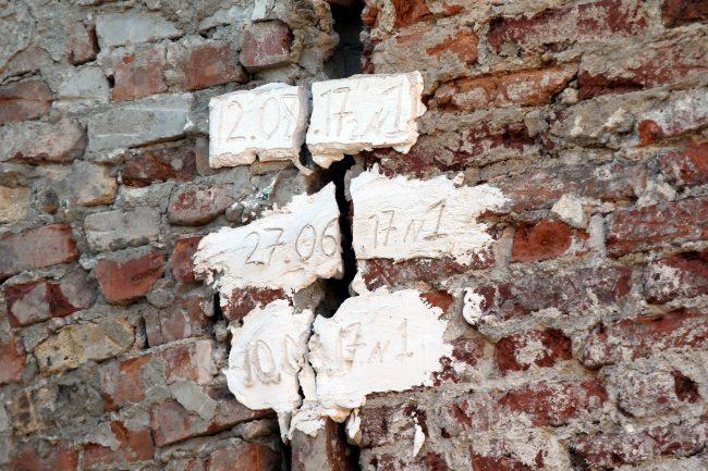 казармы Семёновского полка развалины руины треснувшие маячки